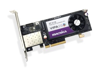 VIPA25 ST2110 Video over IP Accelerator