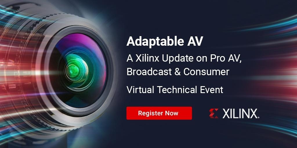 Xilinx Adaptable AV Webinar